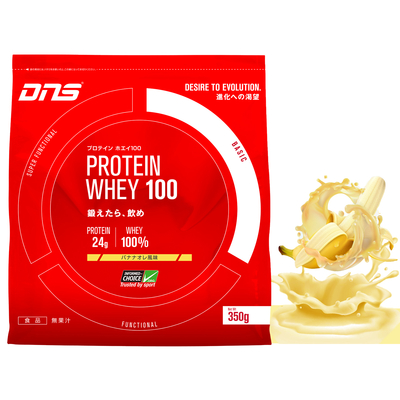 DNS プロテイン ホエイ100 バナナオレ風味 350g