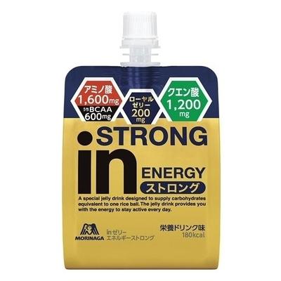 ウイダー in ゼリー エネルギーストロング 栄養ドリンク味 180g×6個 36JMM94200 スポーツショップ限定
