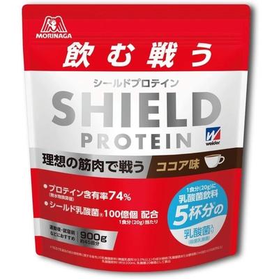 ウイダー シールドプロテイン ココア味 900g 36JMM01702 ホエイ 乳酸菌 ビタミンB群 7種 強く戦える カラダづくり 新製品