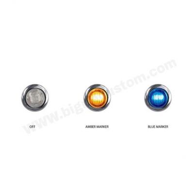 2アプリケーションボタンマーカー(オレンジ&ブルー)