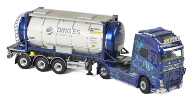 Ingo Dinges - Volvo FH4 Globetrotter XL Tractor