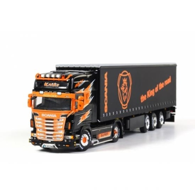 Kaiko - Scania R Topline Truck with 3-Axle Curtainside Trailer
