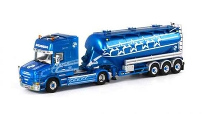 Brugger - Scania T Series Topline with Bellied Powder Tanker