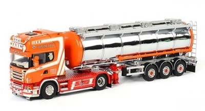 TVT - SCANIA T Topline Tractor with 3 axle Liquid Tanker Trailer