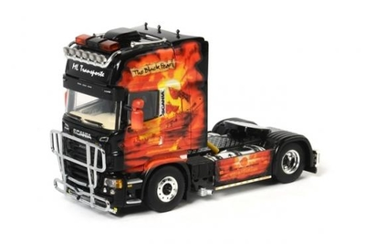 Lengler Transport - The Black Pearl Scania R Topline Tractor (Cab Only)