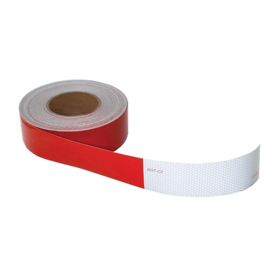 USA警告反射テープ 赤/白