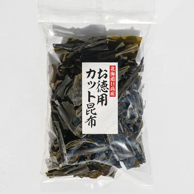 北海道日高産お徳用     カット昆布 150g