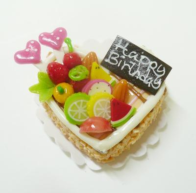 ハート型 ケーキ015