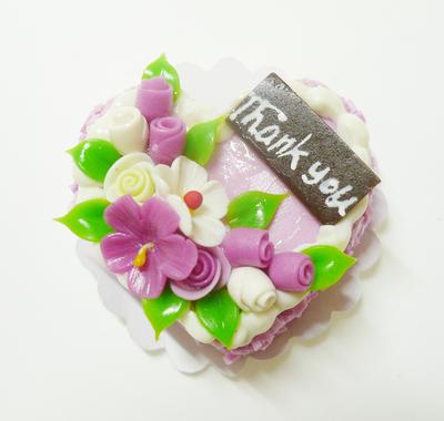 ハート型 ケーキ016