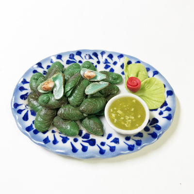 タイ料理 特大皿002