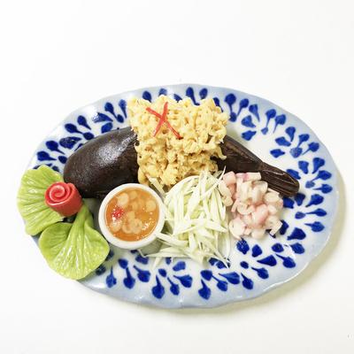 タイ料理 特大皿003