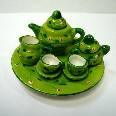 ティーポットセット 緑