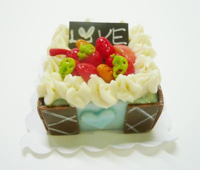 スクウェア型 ケーキ009