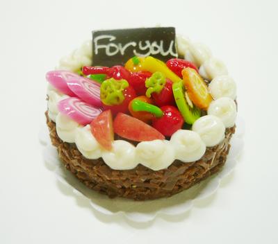 ラウンド型 ケーキ010