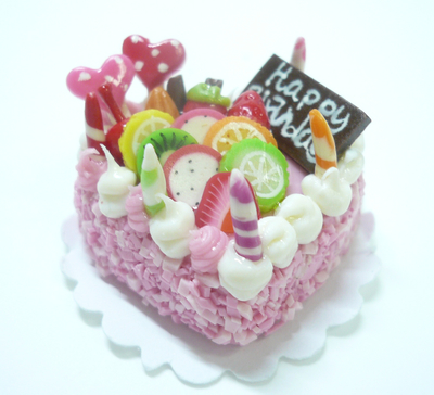 ハート型 ケーキ008