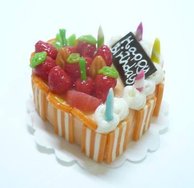ハート型 ケーキ009