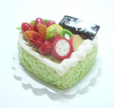 ハート型 ケーキ011