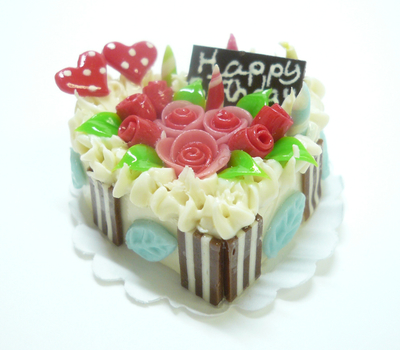 ハート型 ケーキ013