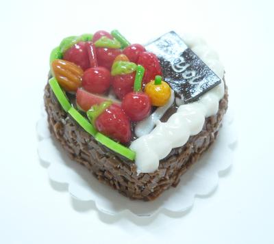 ハート型 ケーキ014