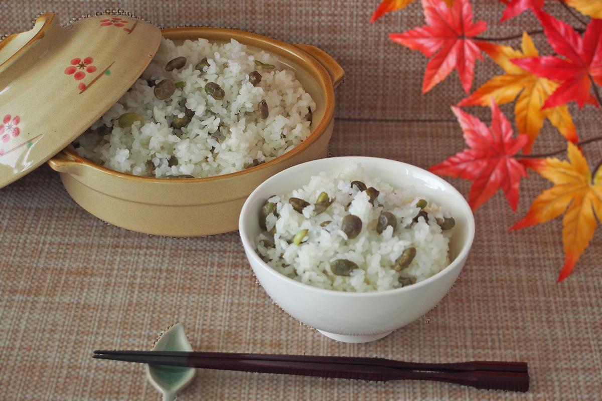 お米と一緒に炊き込んで美味しい豆ごはんに「殿様のだだちゃ豆」