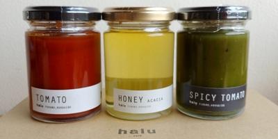 haluCAFE'蜂蜜&ジャムトマト2種