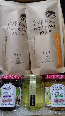 富良野地方物産振興会ホットケーキミックスジャムセット