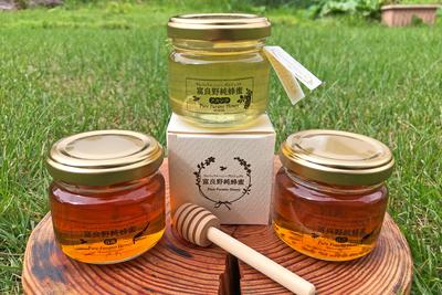 ウレシパフラノ富良野純蜂蜜セット(百花蜜+アカシア蜜)