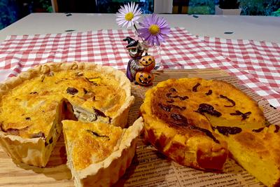 いつか富良野へ ふらのキッシュ&チーズケーキ☆かぼちゃ各1個【冷蔵】