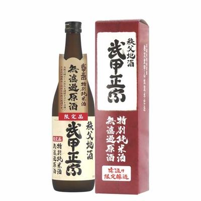 特別純米酒 無濾過原酒 720ml