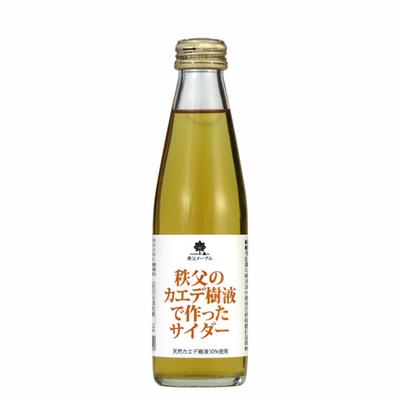 秩父のカエデ樹液で 作ったサイダー 「メープル」 200ml