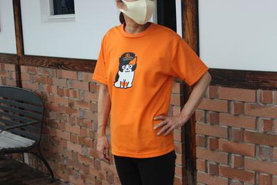 たまTシャツ(オレンジ)