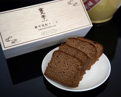 甕雫焼酎ケーキ