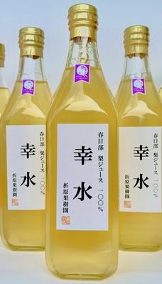梨ジュース100%「幸水」(大) 500ml 1本