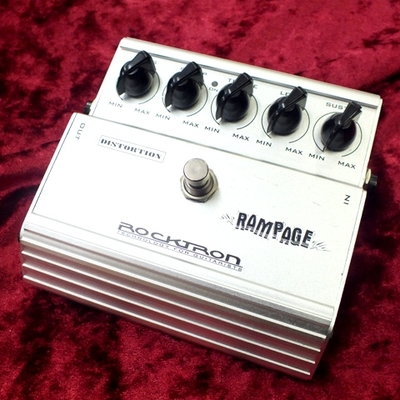 【ROCKTRON RAMPAGE DISTORTION 】used