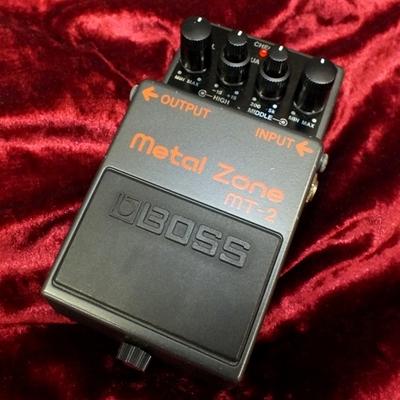 【BOSS metal zone MT-2】