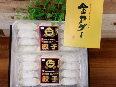 【金アグー】金アグーニンニク肉肉餃子20g×12個入り 3パックセット