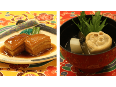 【沖縄の名店】四つ竹 ラフテー・てびちセット