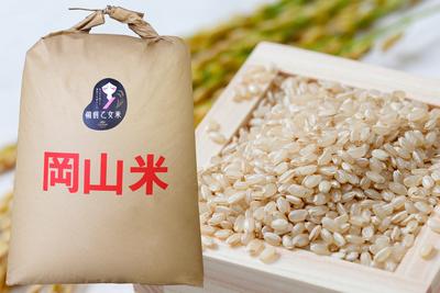 備前乙女米 玄米24㎏袋
