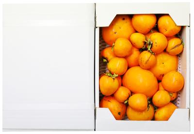太秋柿 家庭用2kg箱(大中小サイズ)