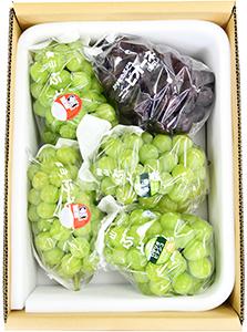 桃太郎ぶどう2房入り 詰合せ(4kg箱)
