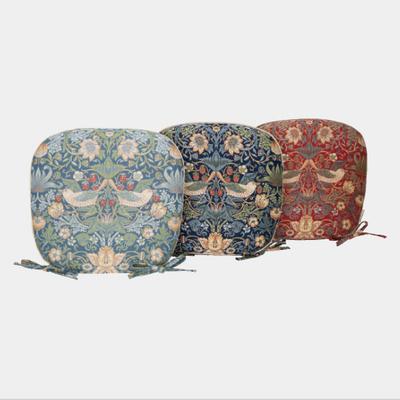 川島織物セルコン いちご泥棒(ダイニングシートクッション)