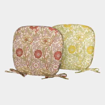 川島織物セルコン ピンクアンドローズ(ダイニングシートクッション)