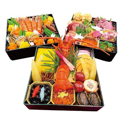 09〈福島エルティ〉 特選おせち三段重「雅」