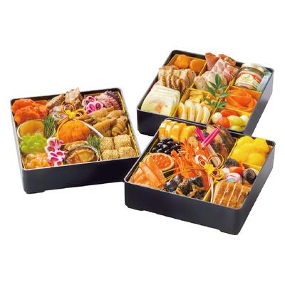 12〈デュッカ〉 特選おせち三段重 仙台牛すき焼きセット