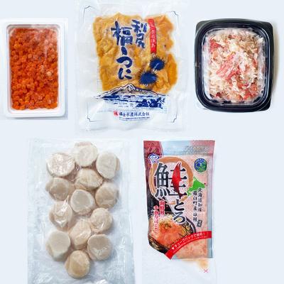 北海道海鮮丼セット