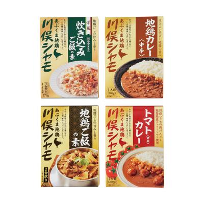 【川俣町農業振興公社】ご飯の素・カレー4点セット