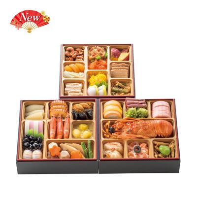 105-〈東京 正直屋〉和洋中冷凍おせち三段重 宝生