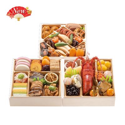 104-〈東京 正直屋〉銀座割烹 里仙 和風冷凍おせち三段重