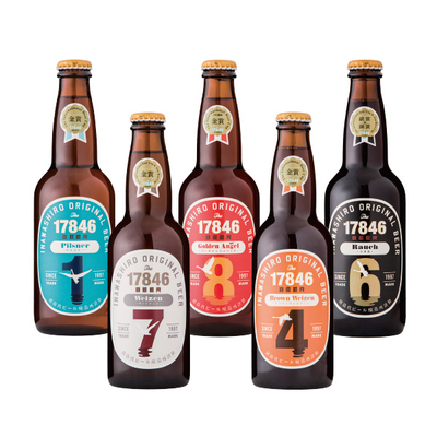 【猪苗代】猪苗代地ビール 17846生ビール詰合せ