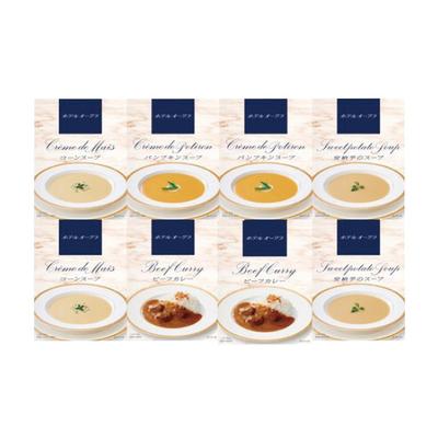 ホテルオークラ レトルトスープ&カレー詰合せ